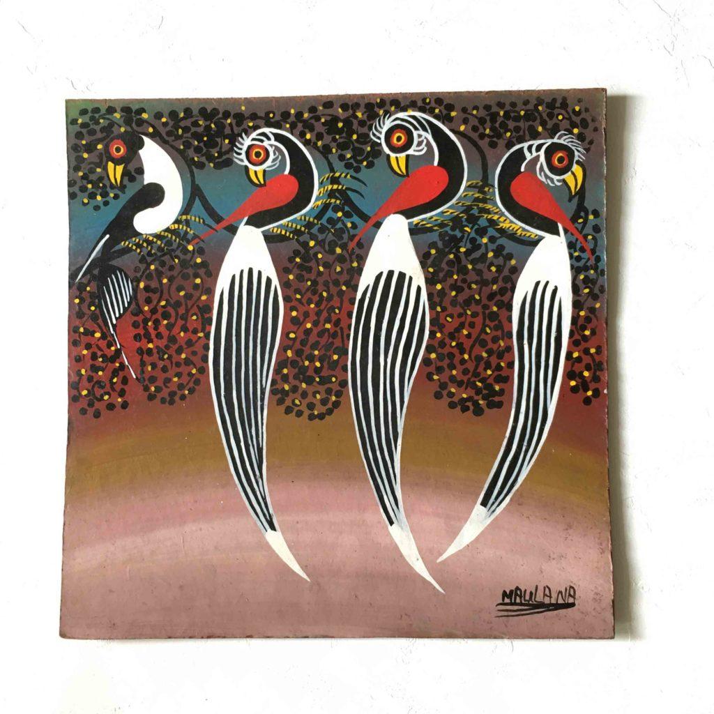 ティンガティンガ 鳥4羽TingaTinga 4 birds