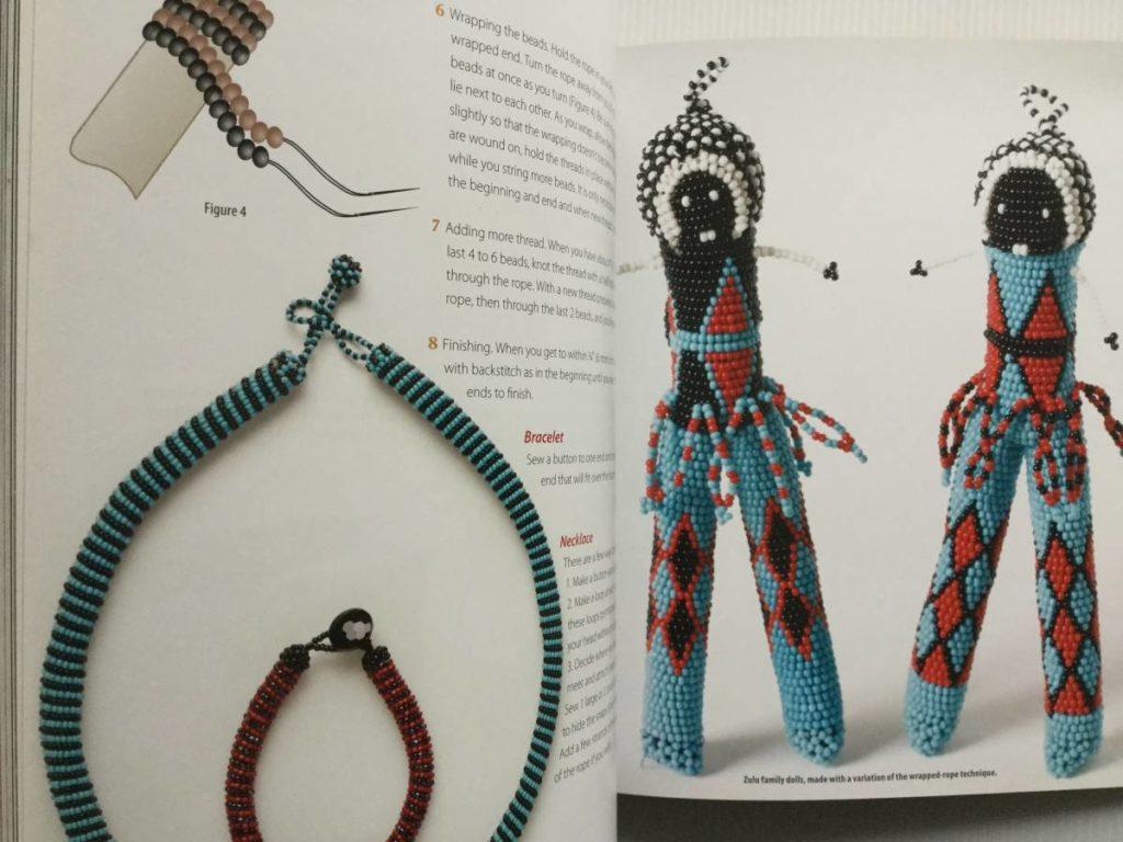 zulu beads doll