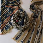 バウレの布 baule textile