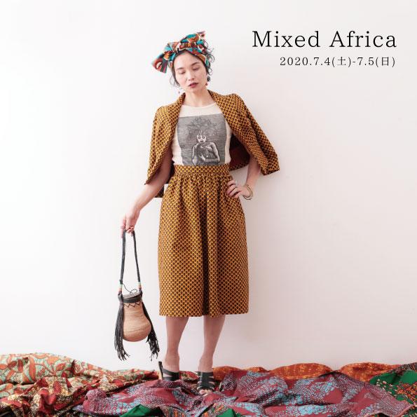 Mixed Africa 展 2020.7  eofmLABORATORY