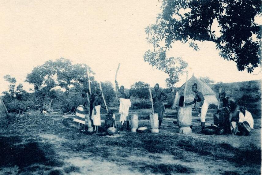ワガドゥグ農村1900-1930 photo source by USC Libraries