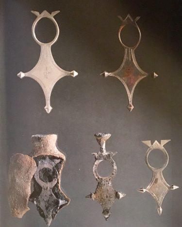 トゥアレグクロスの作り方   Making of the Tuareg cross