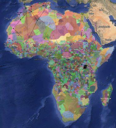 一目でわかる!多様なアフリカの民族