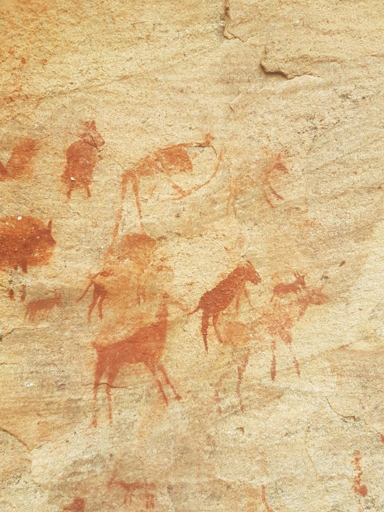 サン人の壁画